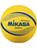 ミカサ ソフトバレー円周78㎝ 約210g 黄 MSN78-Y [並行輸入品]
