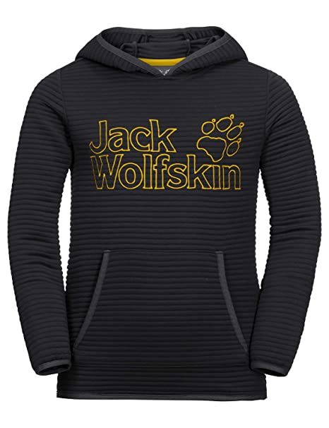 beste Qualität für amazon bezahlbarer Preis Jack Wolfskin Jungen Modesto Hoody Kapuzenpullover