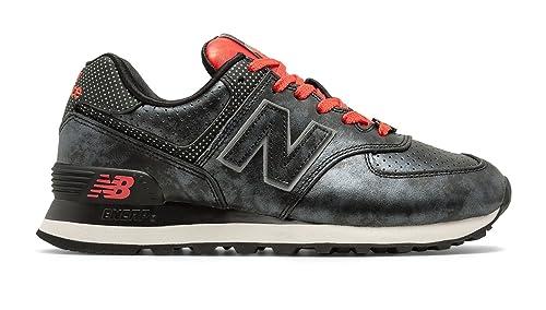 New Balance 574 Disney Shoe - Women's Casual Black/Red: Amazon.ca ...