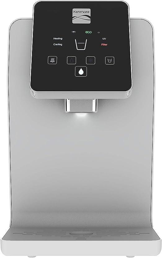 Kenmore Water Dispenser Optimizer (White) - Countertop Water Cooler •  Botteleless Water Dispenser