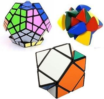 Mayatras Shengshou Master Pyramorphix Cube Puzzle (Colour May Vary) - Set of 3 Pcs