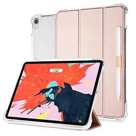 new product f2f4f 589f8 Valkit for New iPad Pro 11 inch Cover 2018, iPad Pro 11 Case, Support Apple  Pencil Charging,Protective Smart Folio Stand Rugged Armor Cases with ...