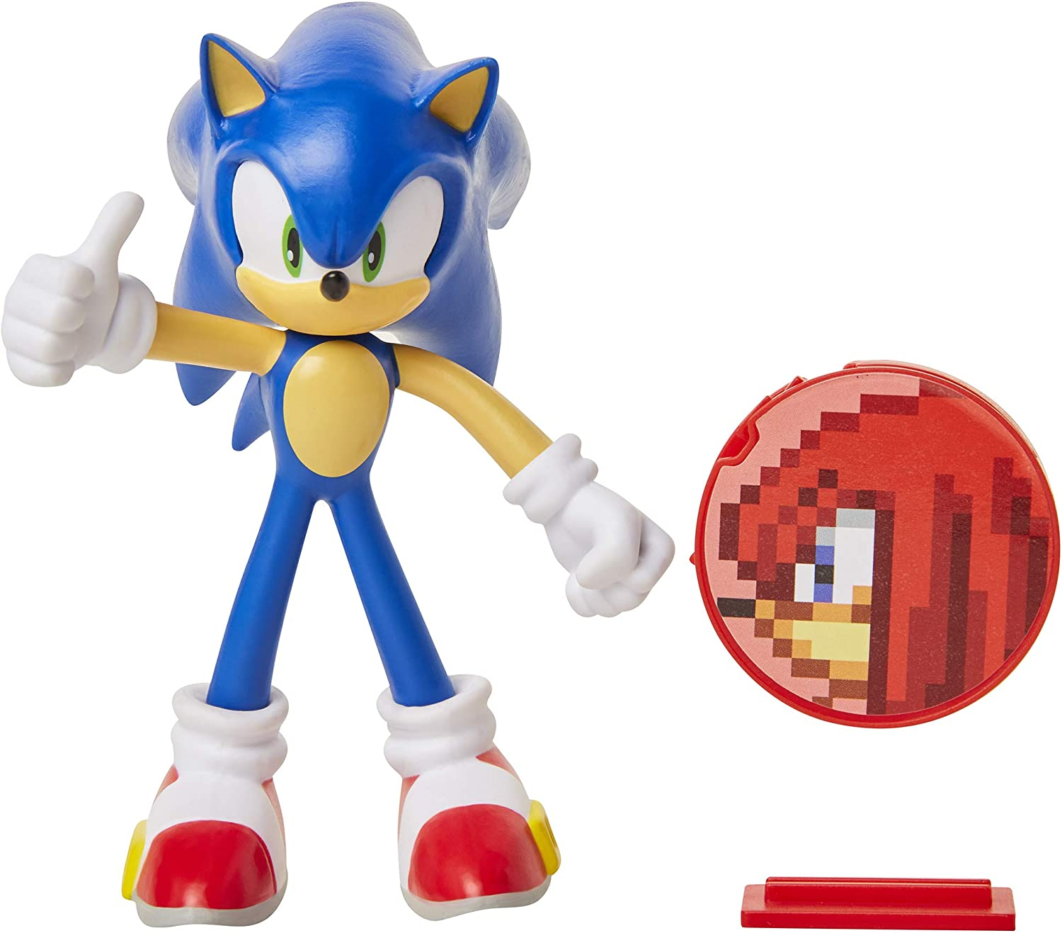 Amazon Com Sonic The Hedgehog 4 Sonic Action Figure Toys Games