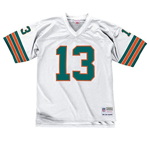 best loved 9d464 52c1b Mitchell & Ness Dan Marino 1984 Replica Jersey Miami Dolphins White