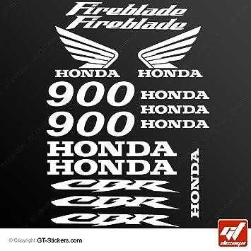 Honda Aufkleber Weis Honda stickers white