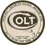 "Colt ""Round Logo"" Metal Sign"