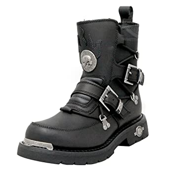 54985a4d51224b Image Unavailable. Image not available for. Color  Harley-Davidson Mens  Distortion Black Mid Cut Riding Boot ...