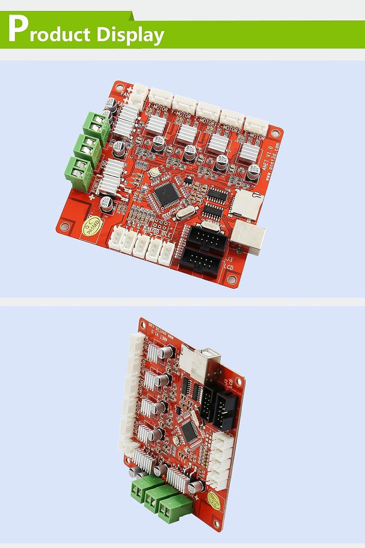 Anet 12864 LCD Bildschirm Smart Display und 3D Drucker Kontrollboard Mainboard V1.0 mit V2.0 Firmwear für Anet A6 3D Drucker 3D-Druck & Digitalisierung 3D-Druck & Digitalisierung