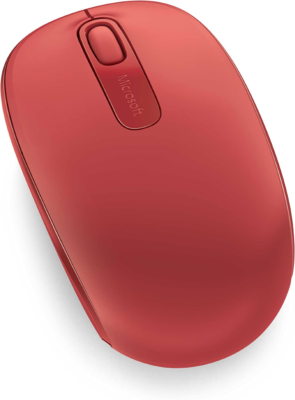 Microsoft – Wireless Mobile Mouse 1850 Rojo: Amazon.es ...
