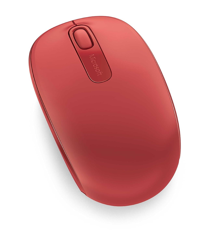 Rat/ón inal/ámbrico Microsoft Wireless Mobile Mouse 1850 Color Morado Compatible con Windows 7//8