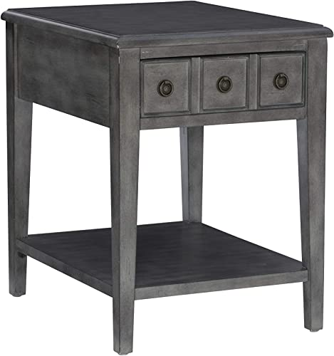 Powell Grey Acent Side Kelly Table
