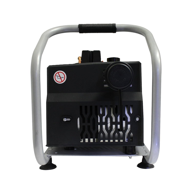 California Air Tools cat-1p1060s ligero y silencioso compresor de aire portátil, plata: Amazon.es: Bricolaje y herramientas