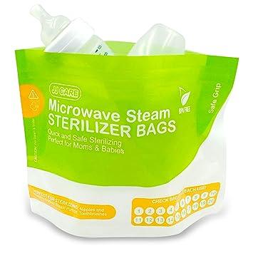 Microwave Disinfection Steam Bag Baby Nursing Bottle Nipple Sterilization Safe