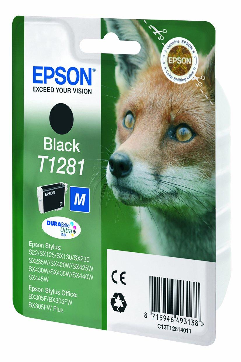 epson original c13t12814011 fuchs wisch und wasserfeste. Black Bedroom Furniture Sets. Home Design Ideas