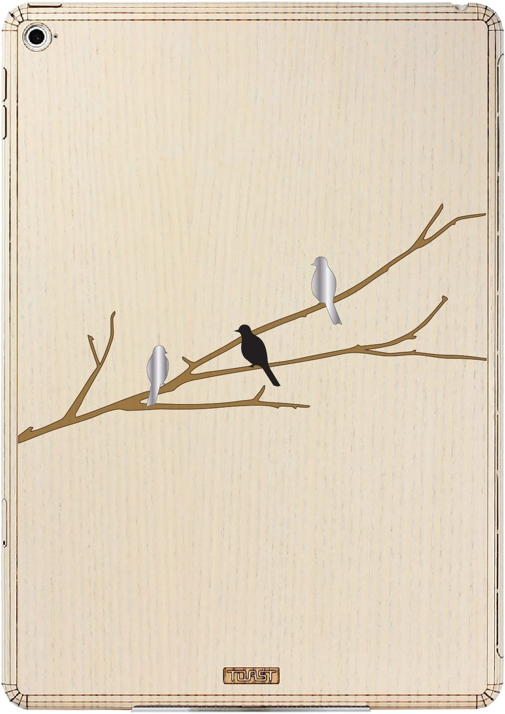 TOAST Bird on Branch Design Cover for the iPad Air 2, Ash (IPDA2-BOB-02)
