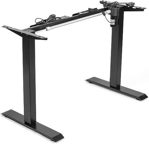 VIVO Black Electric Stand Up Desk Frame Workstation - a good cheap modern office desk