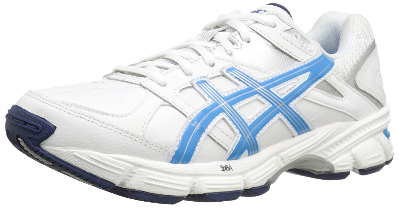 ASICS Women's GEL-190 TR Cross-Training Shoe B00Q2KZYJO 6 B(M) US|White/Malibu/Silver