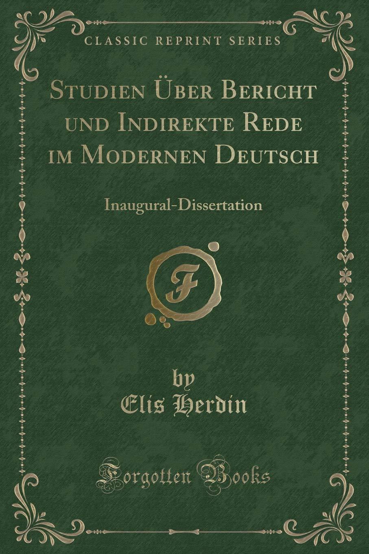 inaugural deutsch