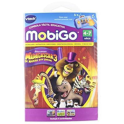VTech Spanish Juego MobiGo Madagascar 3 - En Espanol: Toys & Games