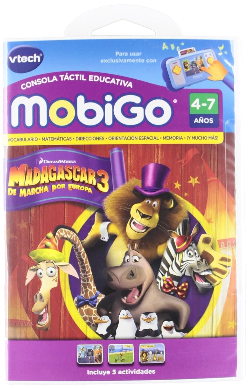 Vtech Juego MobiGo Madagascar 3 En Espanol 80-252122