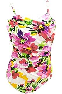 68d94faaa791e Croft & Barrow Women's One Piece Tummy Slimmer Underwire Floral Swimsuit