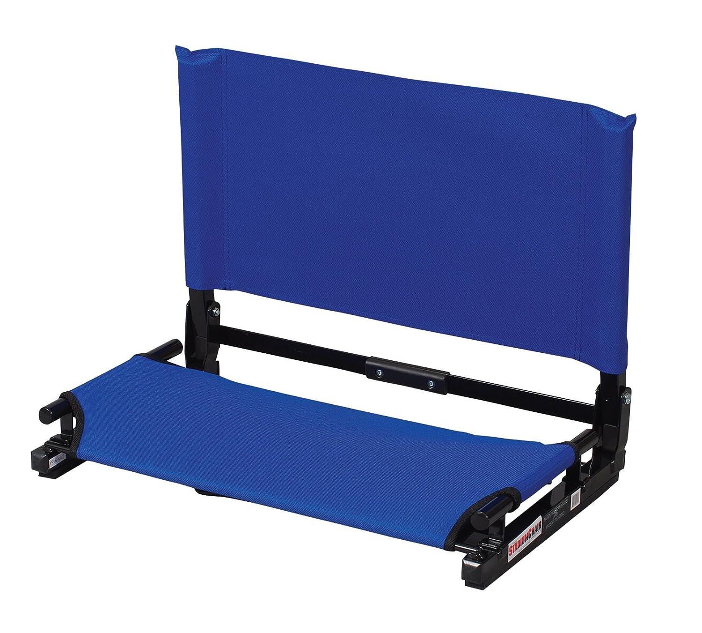 The Stadium椅子Co。デラックスワイドモデルGamechanger Stadium椅子 B01DAN3BHW  ブルー