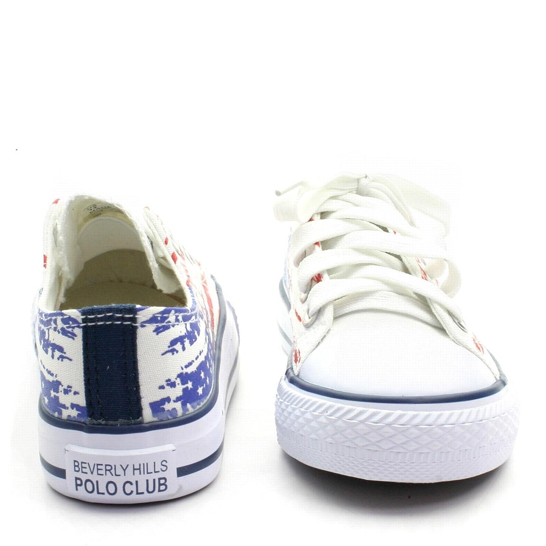 ad8f4a31dd7e65 BH5059 Beverly Hills Polo Club Scarpa Sneeker Bassa da Bambino in Jeans:  Amazon.it: Scarpe e borse