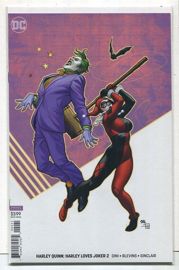 Amazon.com: Harley Quinn: Harley Loves Joker 2 VARIANT Cover ...