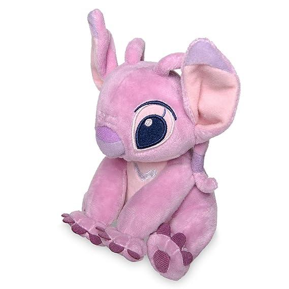 Juguete de felpa oficial Disney Lilo & Stitch 17cm Angel Soft: Amazon.es: Juguetes y juegos