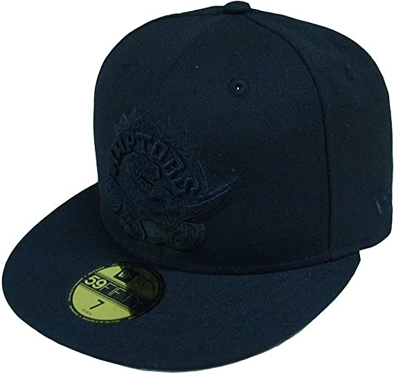 huge selection of 40f93 3bb6e New Era Toronto Raptors HWC Black On Black 59fifty Fitted Cap Limited  Edition  Amazon.co.uk  Clothing