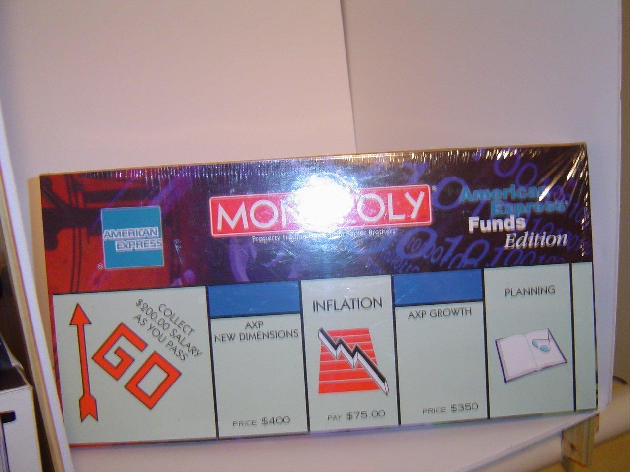 新品即決 American Express American B017JZ03AK [並行輸入品] Monopoly [並行輸入品] B017JZ03AK, パティスリーカーディナル:f9e4fabd --- arianechie.dominiotemporario.com