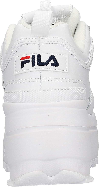 Fila 1010865 1fg_36, Basket Femme, Blanc: