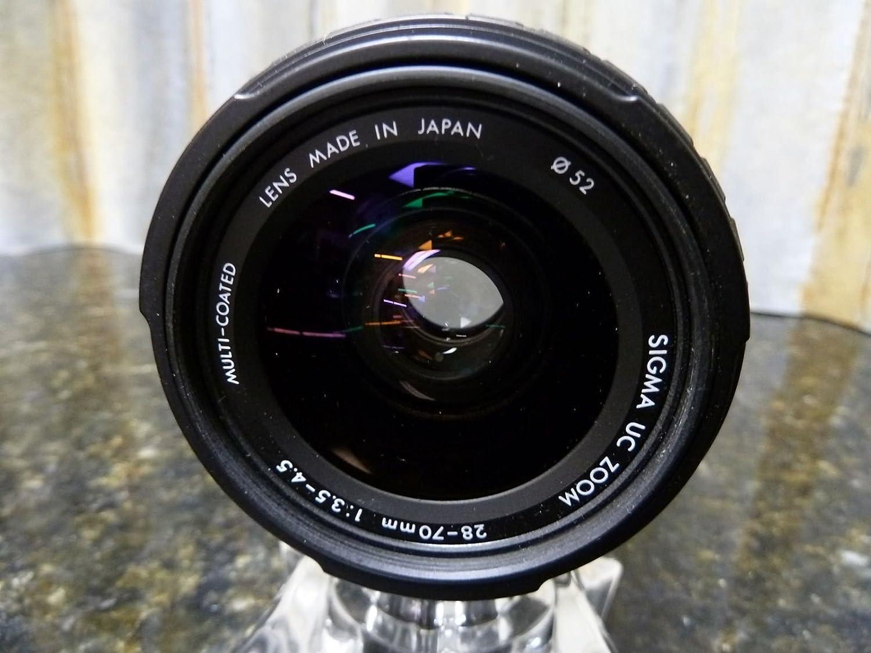 Sigma UC 28-70mm Minolta MD Mount MF Standard Zoom Lens