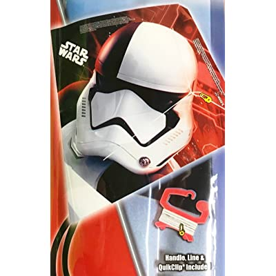 "Star Wars Stormtrooper 23"" Tall Kite: Toys & Games"