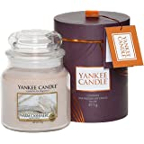 Yankee Candle Gift Wrap Warm Cashmere Scented Candle In Glass