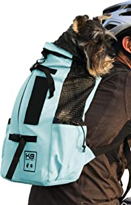 K9 Sport Sack | Dog Carrier Backpack for Small and Medium Pets | Front Facing Adjustable Dog Backpack Carrier | Fully Ventilated | Veterinarian Approved