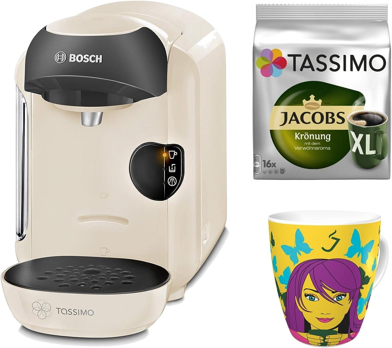 Bosch Tassimo Vivy + tdiscs + Ritzenhoff sammel Taza beige: Amazon ...