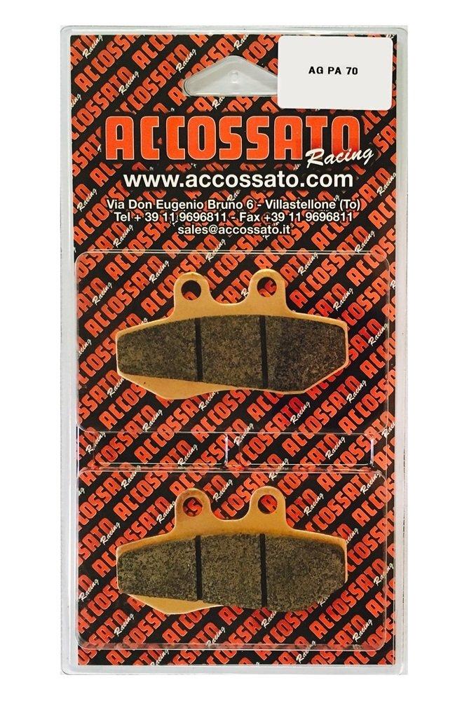Accossato Pastiglia freno AGPA70OR, APRILIA > RED ROSE 125, 125 (1990), APRILIA > RED ROSE 125, 125 (1990) Accossato Group