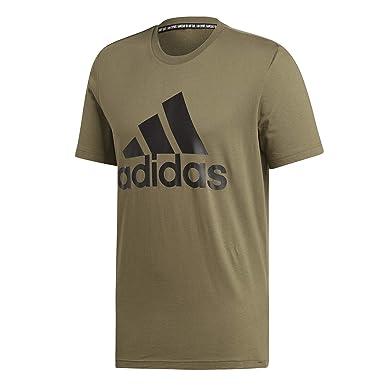 adidas MH BOS T Shirt Damen weiß