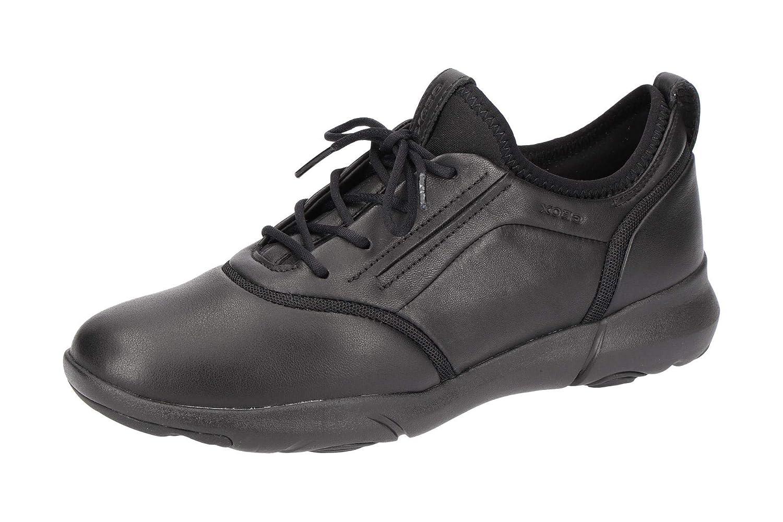 Geox D Nebula S A, Sneaker Infilare Donna Nero (Black C9999)