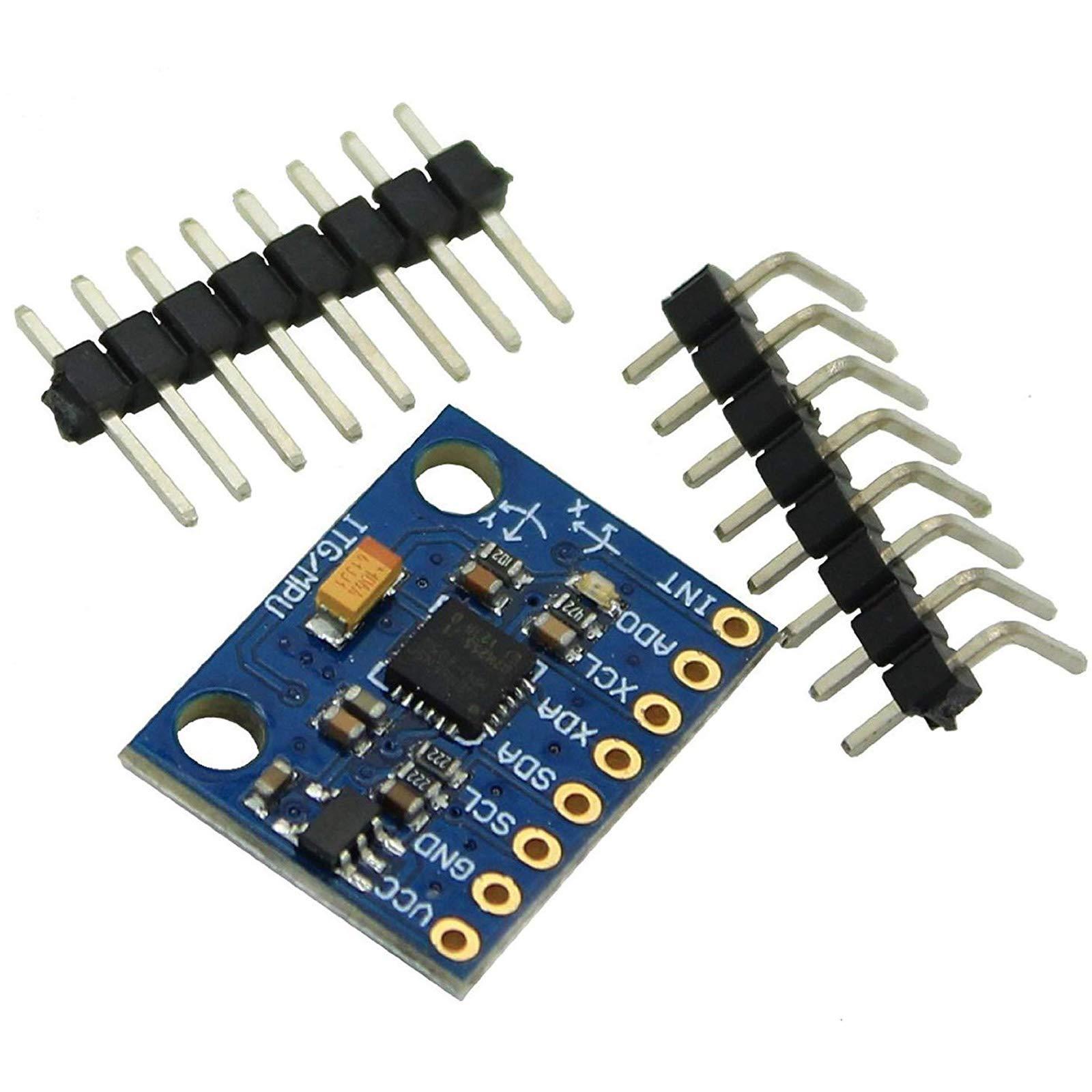 Gy-521 MPU-6050 MPU6050 Module 3 Axis Analog Gyro Sensors+ 3 Axis Accelerometer Module by Generic (Image #1)