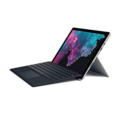 Microsoft Surface Pro 6 (Intel Core i7, 8GB RAM, 256GB) - Newest Version  and Microsoft FMM-00001 Type Cover Surface Pro - Black
