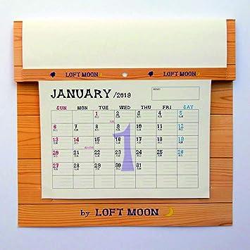 Amazon | LOFTMOONカレンダー201...