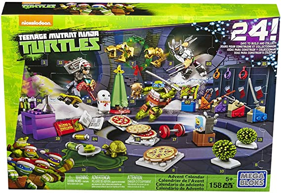 Amazon.com: Conjunto de regalos de adviento Mega Bloks de la ...