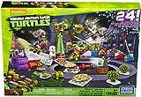 Mega Bloks TMNT Toy - Teenage Mutant Ninja Turtles Xmas Advent Calendar - Includes 158 Pieces