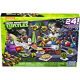 Mega Bloks TMNT Toy - Teenage Mutant Ninja Turtles Xmas Advent Calendar - Includes 158 Pieces