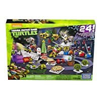 Mattel Mega Bloks dpf85 – Teenage Mutant Ninja Turtles Calendario dell' Avvento