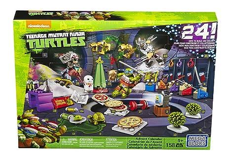 Mattel Mega Bloks dpf85 – Teenage Mutant Ninja Turtles Calendario de Adviento