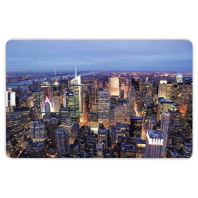 32GB Forma de tarjeta de crédito de unidades flash USB Nueva York ...