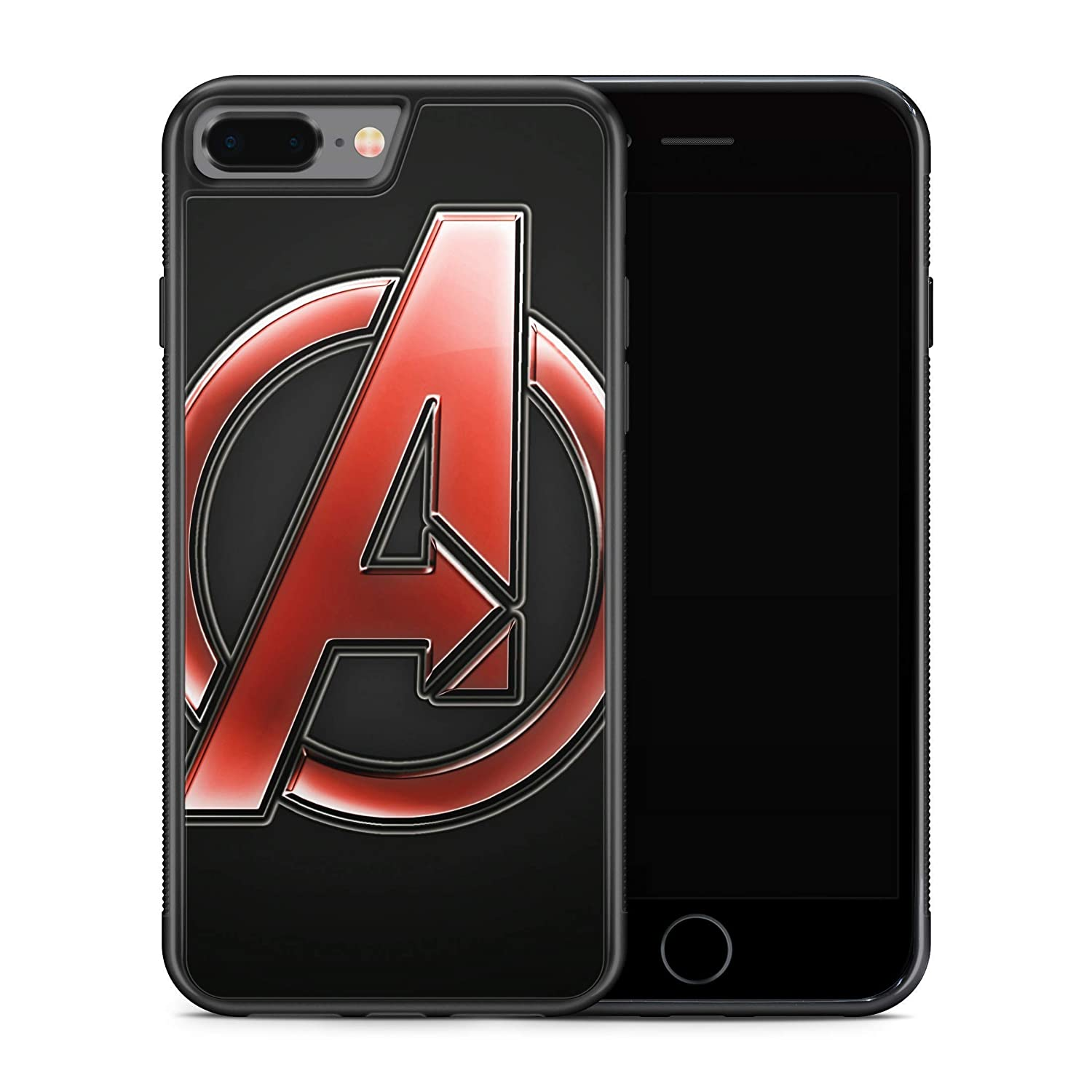 S9 Case Comics Superhero Phone Cover M194 Inspired by Avengers Logo Samsung Note s10 Plus 9 Case Galaxy S10 Plus 10e S8